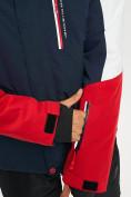 Оптом Горнолыжный костюм мужской красного цвета 077018Kr в Екатеринбурге, фото 7