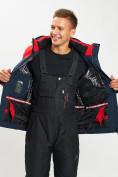 Оптом Горнолыжный костюм мужской красного цвета 077018Kr в Екатеринбурге, фото 10
