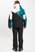 Оптом Горнолыжный костюм мужской темно-зеленого цвета 077019TZ в Екатеринбурге, фото 6