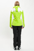 Оптом Горнолыжный костюм женский зеленого цвета 077030Z в Екатеринбурге, фото 6