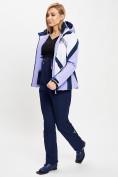 Оптом Горнолыжный костюм женский фиолетового цвета 077031F в Екатеринбурге, фото 4