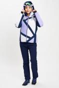 Оптом Горнолыжный костюм женский фиолетового цвета 077031F в Екатеринбурге, фото 3