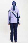 Оптом Горнолыжный костюм женский фиолетового цвета 077031F в Екатеринбурге, фото 6