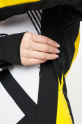 Оптом Горнолыжный костюм женский желтого цвета 077031J в Екатеринбурге, фото 9