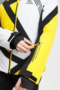Оптом Горнолыжный костюм женский желтого цвета 077031J в Екатеринбурге, фото 8