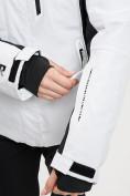 Оптом Горнолыжный костюм женский белого цвета 077034Bl в Екатеринбурге, фото 10