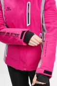 Оптом Горнолыжный костюм женский розового цвета 077034R в Екатеринбурге, фото 11