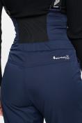 Оптом Горнолыжный костюм женский темно-синего цвета 077034TS в Екатеринбурге, фото 13