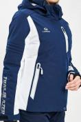 Оптом Горнолыжный костюм женский темно-синего цвета 077034TS в Екатеринбурге, фото 7