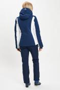 Оптом Горнолыжный костюм женский темно-синего цвета 077034TS в Екатеринбурге, фото 6