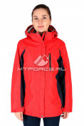 Интернет магазин MTFORCE.ru предлагает купить оптом куртка спортивная женская батал красного цвета 097Kr по выгодной и доступной цене с доставкой по всей России и СНГ