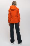 Оптом Ветровка MTFORCE женская оранжевого цвета 20014O, фото 6