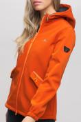Оптом Ветровка MTFORCE женская оранжевого цвета 20014O, фото 10
