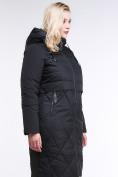 Оптом Куртка зимняя женская классическая черного цвета 100-916_701Ch в Екатеринбурге, фото 3