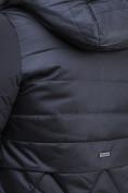 Оптом Куртка зимняя женская классическая черного цвета 100-916_701Ch в Екатеринбурге, фото 6