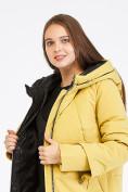 Оптом Куртка зимняя женская желтого цвета 100-927_56J в Екатеринбурге, фото 6