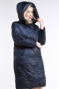 Оптом Куртка зимняя женская стеганная темно-фиолетовый цвета 105-917_122TF в Казани, фото 4