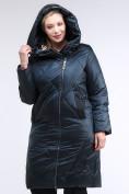 Оптом Куртка зимняя женская стеганная темно-зеленый цвета 105-917_123TZ в Казани, фото 5
