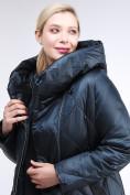 Оптом Куртка зимняя женская стеганная темно-зеленый цвета 105-917_123TZ в Казани, фото 6