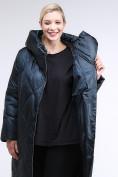 Оптом Куртка зимняя женская стеганная темно-зеленый цвета 105-917_123TZ в Казани, фото 7