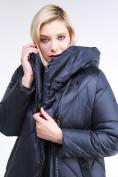 Оптом Куртка зимняя женская стеганная темно-синего цвета 105-917_84TS в  Красноярске, фото 6