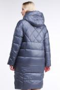 Оптом Куртка зимняя женская стеганная темно-серого цвета 105-918_25TC в  Красноярске, фото 5