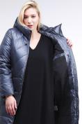 Оптом Куртка зимняя женская классическая темно-серого цвета 108-915_25TC в Екатеринбурге, фото 6
