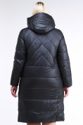 Оптом Куртка зимняя женская классическая черного цвета 108-915_701Ch в  Красноярске, фото 6