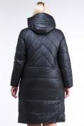 Оптом Куртка зимняя женская классическая черного цвета 108-915_701Ch в  Красноярске, фото 7