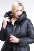 Оптом Куртка зимняя женская классическая черного цвета 108-915_701Ch в  Красноярске