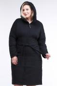 Оптом Куртка зимняя женская классическая черного цвета 110-905_701Ch в  Красноярске, фото 6