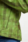 Оптом Ветровка женская зеленого цвета 1155Z в Екатеринбурге, фото 16