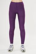 Оптом Леггинсы женские темно-фиолетового цвета 1165TF в Екатеринбурге