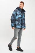 Оптом Куртка демисезонная 3 в 1синего цвета 12004S в Екатеринбурге, фото 6