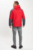Оптом Куртка демисезонная 3 в 1 красного цвета 12005Kr в Екатеринбурге, фото 12