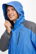 Оптом Куртка демисезонная 3 в 1 синего цвета 12005S в Екатеринбурге, фото 9