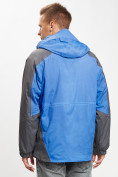 Оптом Куртка демисезонная 3 в 1 синего цвета 12005S в Екатеринбурге, фото 8