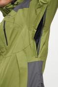Оптом Куртка демисезонная 3 в 1 зеленого цвета 12005Z в Екатеринбурге, фото 8