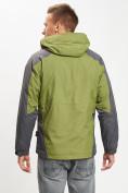 Оптом Куртка демисезонная 3 в 1 зеленого цвета 12005Z в Екатеринбурге, фото 12