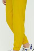 Оптом Штаны джоггеры женские желтого цвета 1302J в Екатеринбурге, фото 13
