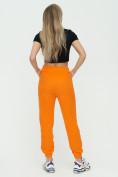 Оптом Штаны джоггеры женские оранжевого цвета 1302O в Казани, фото 6
