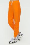 Оптом Штаны джоггеры женские оранжевого цвета 1302O в Казани, фото 9