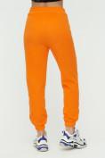 Оптом Штаны джоггеры женские оранжевого цвета 1302O в Казани, фото 10