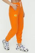 Оптом Штаны джоггеры женские оранжевого цвета 1302O в Казани, фото 11