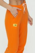 Оптом Штаны джоггеры женские оранжевого цвета 1302O в Казани, фото 14