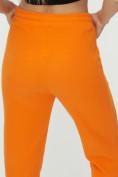 Оптом Штаны джоггеры женские оранжевого цвета 1302O в Казани, фото 16