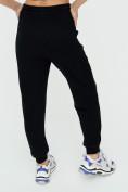 Оптом Спортивные брюки женские черного цвета 1306Ch в Казани, фото 13