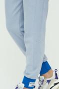 Оптом Спортивные брюки женские голубого цвета 1307Gl в Екатеринбурге, фото 21