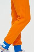 Оптом Спортивные брюки женские оранжевого цвета 1307O в Екатеринбурге, фото 20
