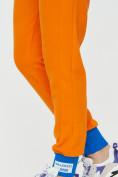 Оптом Спортивные брюки женские оранжевого цвета 1307O в Екатеринбурге, фото 21